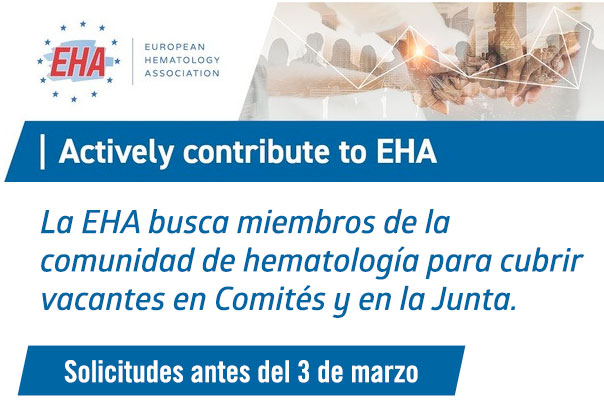 Actively contribute to EHA