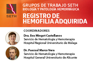 Registro de Hemofilia Adquirida